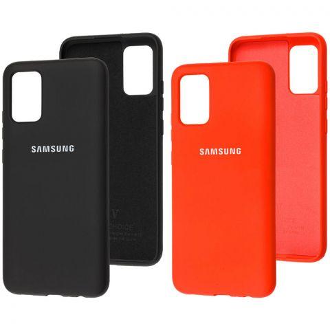 Силиконовый чехол для Samsung Galaxy A02s (A025) Silicone Full