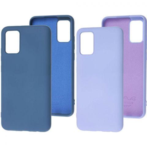 Силиконовый чехол для Samsung Galaxy A02s (A025) Wave Colorful