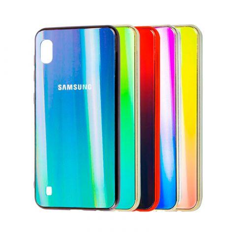 Чехол для Samsung Galaxy A10 (A105) Aurora Glass Logo