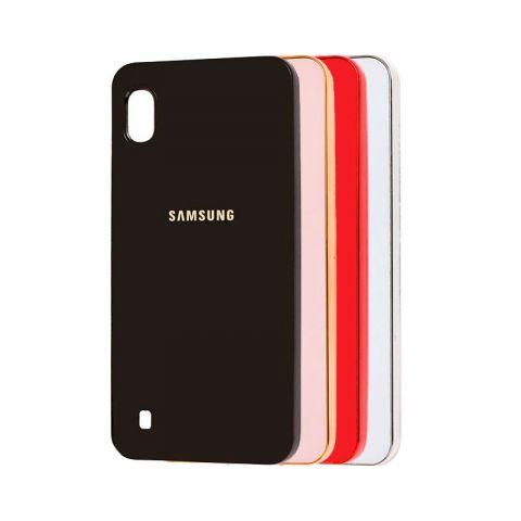 Чехол для Samsung Galaxy A10 (A105) Glass Silicone Case