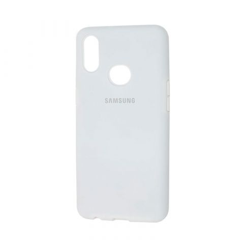 Чехол для Samsung Galaxy A10s (A107) Silicone Full-White