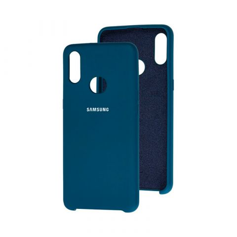Чехол для Samsung Galaxy A10s (A107) Soft Touch Silicone Cover-Ocean Blue
