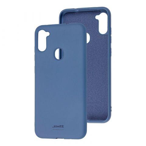 Чехол для Samsung Galaxy A11 (A115) / Galaxy M11 (M115) SMTT new-Lavender Gray