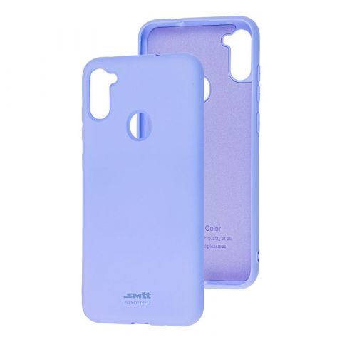 Чехол для Samsung Galaxy A11 (A115) / Galaxy M11 (M115) SMTT new-Light Violet