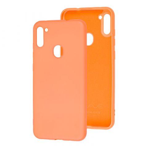 Чехол для Samsung Galaxy A11 (A115) / Galaxy M11 (M115) Wave Colorful-Peach