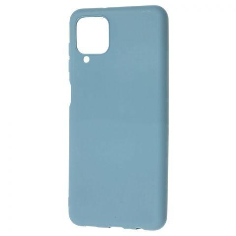 Силиконовый чехол для Samsung Galaxy A12 (A125) Candy-Alaskan Blue