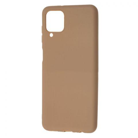 Силиконовый чехол для Samsung Galaxy A12 (A125) Candy-Brown