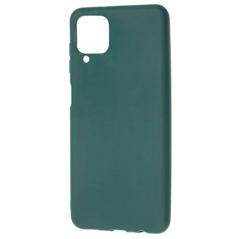 Силиконовый чехол для Samsung Galaxy A12 (A125) Candy-Forest Green