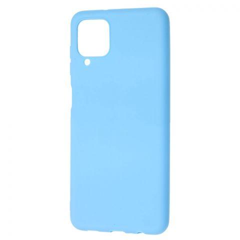 Силиконовый чехол для Samsung Galaxy A12 (A125) Candy-Light Blue