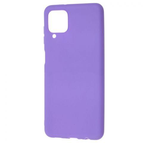 Силиконовый чехол для Samsung Galaxy A12 (A125) Candy-Violet