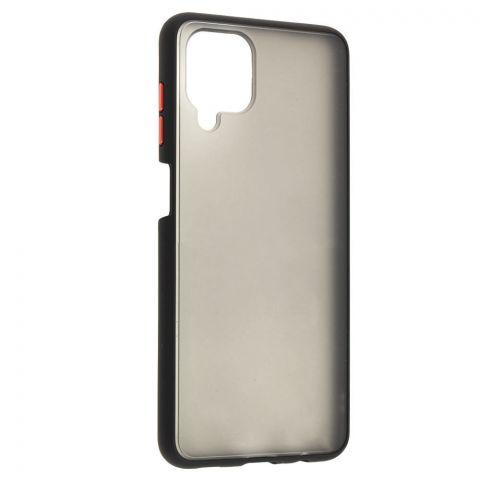 Чехол для Samsung Galaxy A12 (A125) LikGus Maxshield-Black/Red