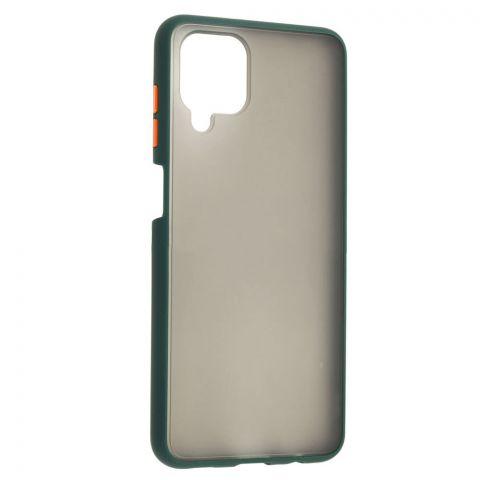 Чехол для Samsung Galaxy A12 (A125) LikGus Maxshield-Dark Olive
