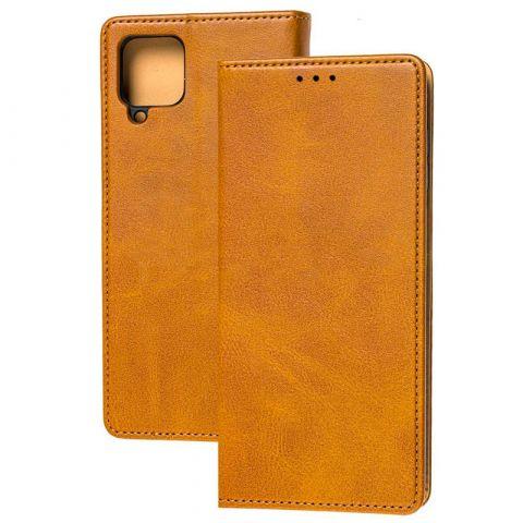 Чехол-книжка для Samsung Galaxy A12 (A125) Magnet-Brown