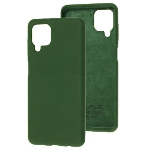 Силиконовый чехол для Samsung Galaxy A12 (A125) Wave Full-Cyprus Green