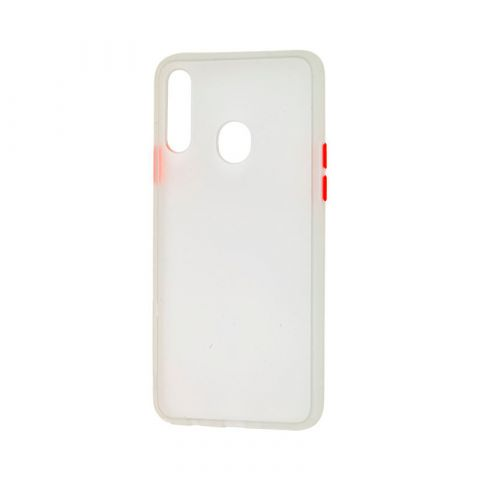 Чехол для Samsung Galaxy A20s (A207) LikGus Maxshield-White