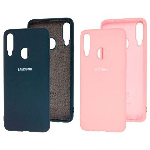 Чехол для Samsung Galaxy A20s (A207) Silicone Full