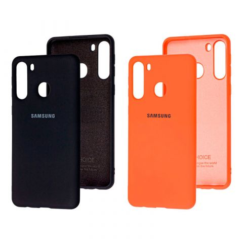 Чехол для Samsung Galaxy A21 (A215) Silicone Full