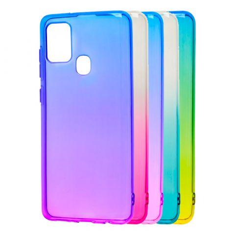 Силиконовый чехол для Samsung Galaxy A21s (A217) Gradient Design