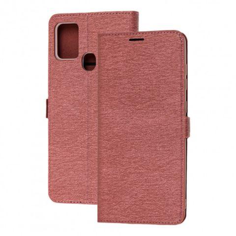 Чехол-книжка для Samsung Galaxy A21s (A217) Side Magnet-Bordo