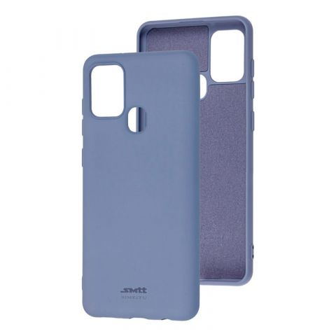 Чехол для Samsung Galaxy A21s (A217) SMTT new-Lavender Gray