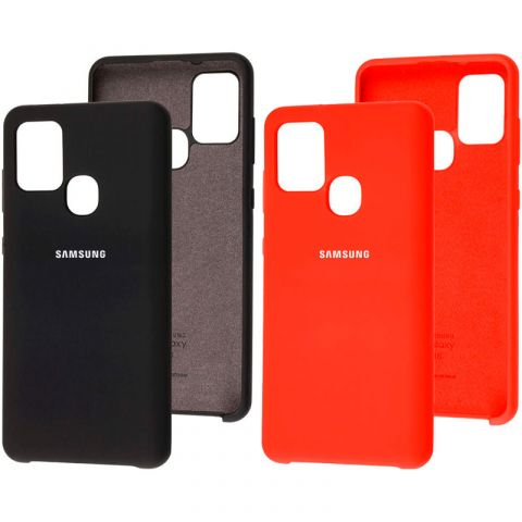 Чехол для Samsung Galaxy A21s (A217) Soft Touch Silicone Cover