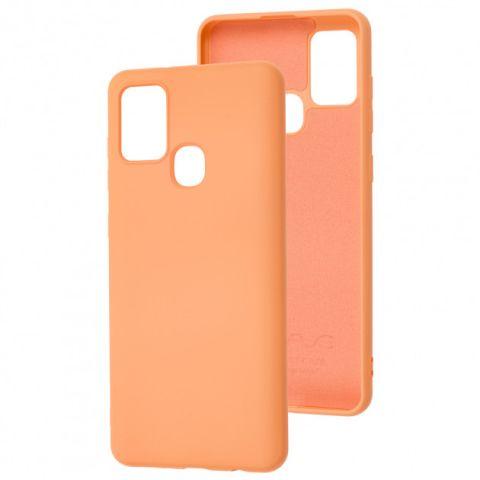 Чехол для Samsung Galaxy A21s (A217) Wave Color Full-Peach