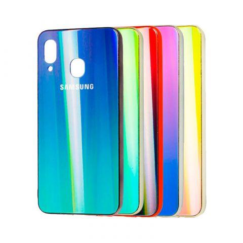 Чехол для Samsung Galaxy A30 (A305) Aurora Glass Logo