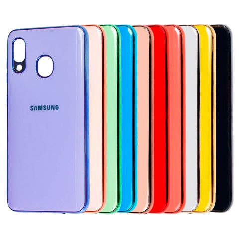 Чехол для Samsung Galaxy A30 (A305) Glass Silicone Case