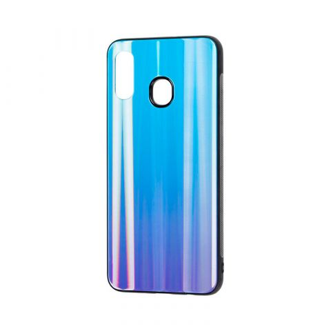 Чехол для Samsung Galaxy A30 (A305) Gradient glass-Blue