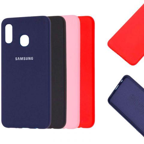 Чехол для Samsung Galaxy A30 (A305) Silicone Full