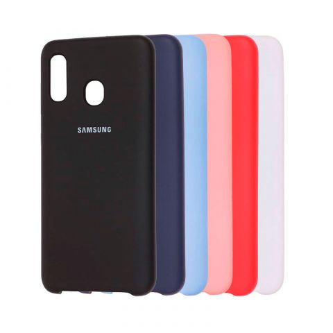Чехол для Samsung Galaxy A30 (A305) Soft Touch Silicone Cover