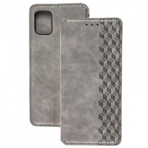 Чехол-книжка для Samsung Galaxy A31 (A315) Getman Cubic-Gray