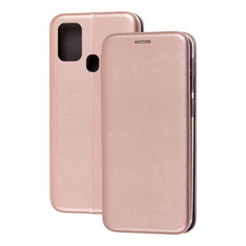 Чехол-книжка для Samsung Galaxy A31 (A315) Premium-Rose Gold