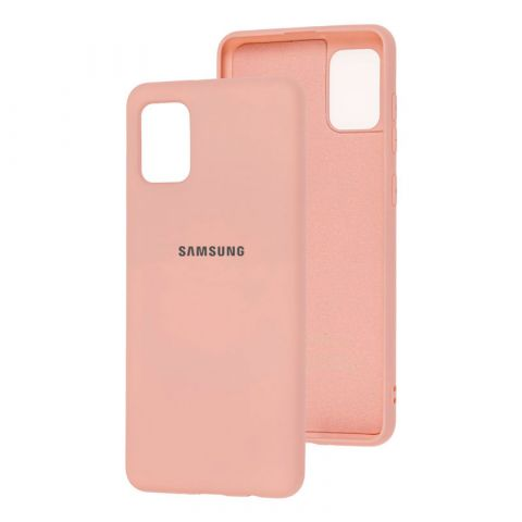 Чехол для Samsung Galaxy A31 (A315) Silicone Full-Pink Sand