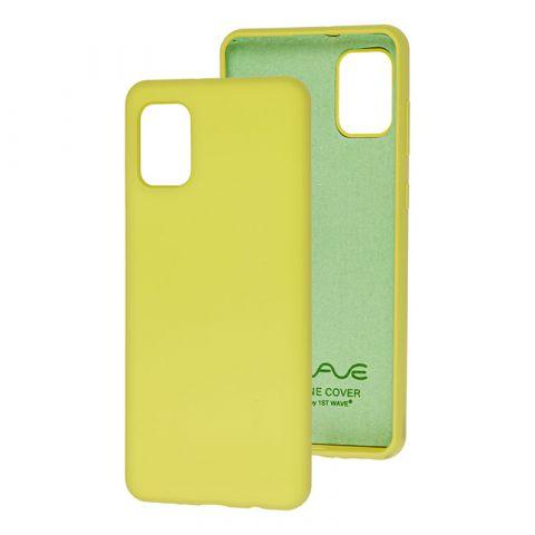 Чехол для Samsung Galaxy A31 (A315) Wave Colorful-Lime