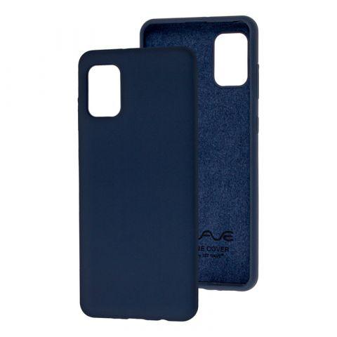 Чехол для Samsung Galaxy A31 (A315) Wave Colorful-Midnight Blue