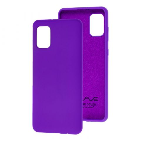 Чехол для Samsung Galaxy A31 (A315) Wave Colorful-Ultra Violet