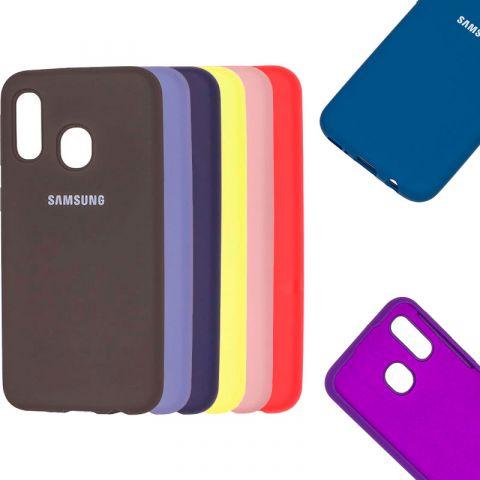 Чехол для Samsung Galaxy A40 (A405) Silicone Full