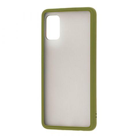 Чехол для Samsung Galaxy A41 (A415) LikGus Maxshield-Green