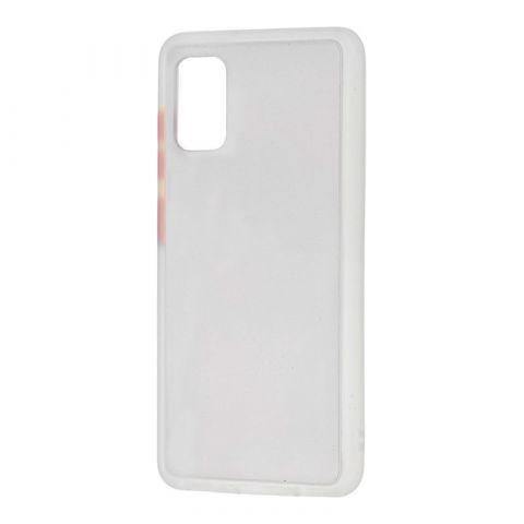 Чехол для Samsung Galaxy A41 (A415) LikGus Maxshield-White