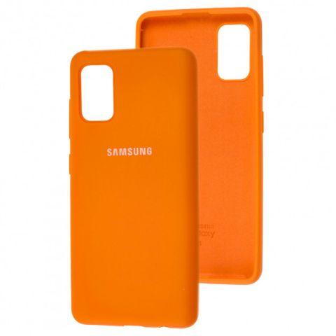 Чехол для Samsung Galaxy A41 (A415) Silicone Full-Orange