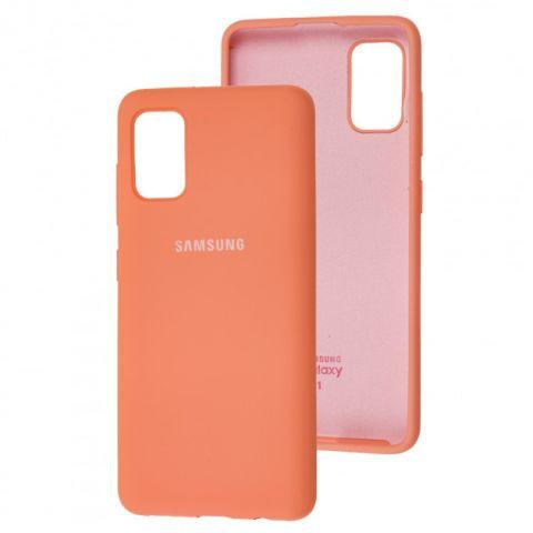 Чехол для Samsung Galaxy A41 (A415) Silicone Full-Peach