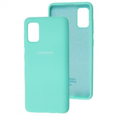 Чехол для Samsung Galaxy A41 (A415) Silicone Full-Turquoise