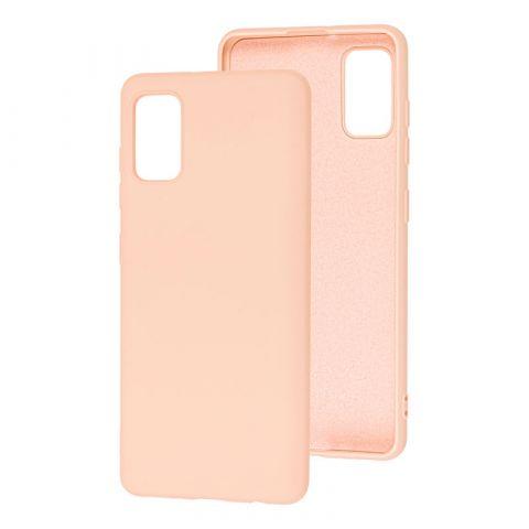 Чехол для Samsung Galaxy A41 (A415) Wave Colorful-Pink Sand