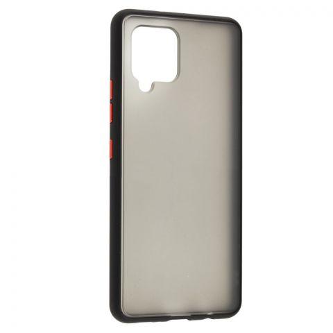 Чехол для Samsung Galaxy A42 (A426) LikGus Maxshield-Black/Red