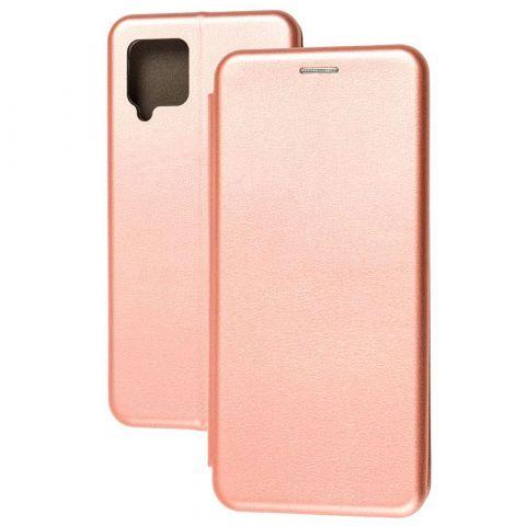 Чехол-книжка для Samsung Galaxy A42 (A426) Premium-Rose Gold