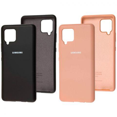 Силиконовый чехол для Samsung Galaxy A42 (A426) Silicone Full