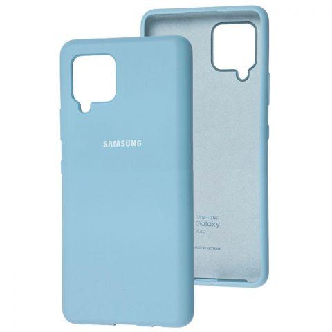 Силиконовый чехол для Samsung Galaxy A42 (A426) Silicone Full-Lilac