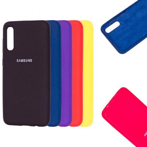 Чехол для Samsung Galaxy A50 (A505) / A30s (A307) / A50s (A507) Silicone Full