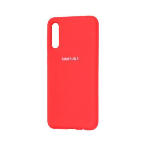 Чехол для Samsung Galaxy A50 (A505) Silicone Full-Red